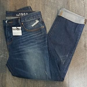 NWT Gap Sexy Boyfriend Jeans